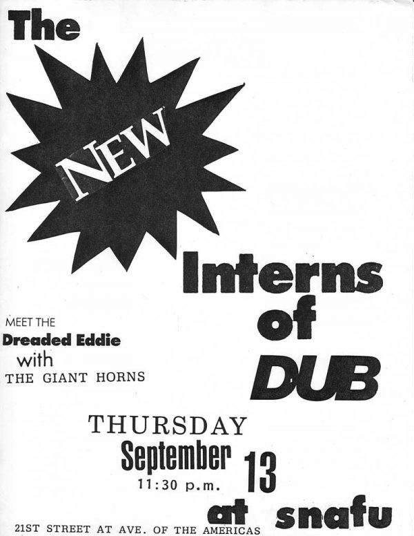 The New Interns of Dub meet The Dreaded Eddie
