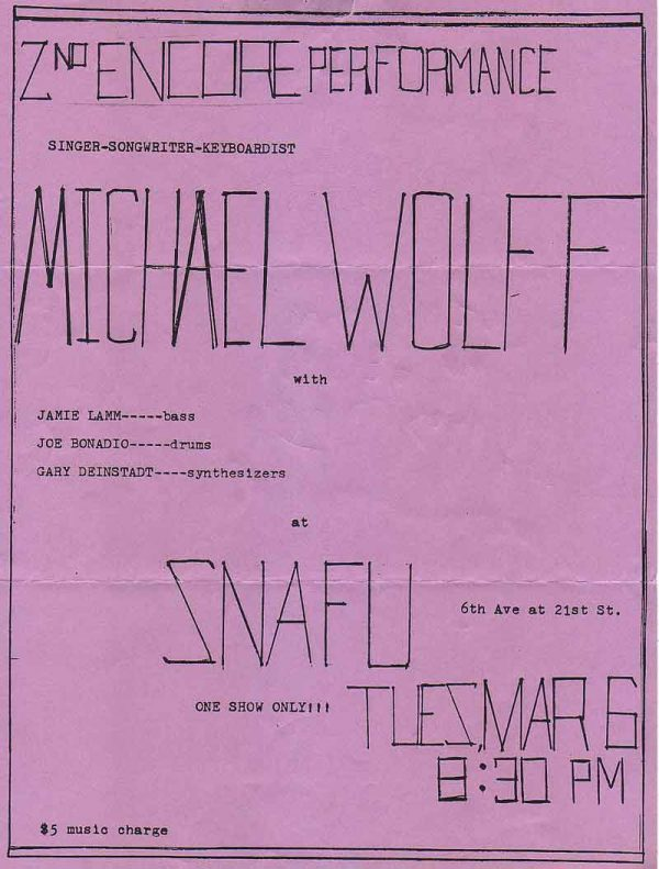 Michael Wolff at SMAFU