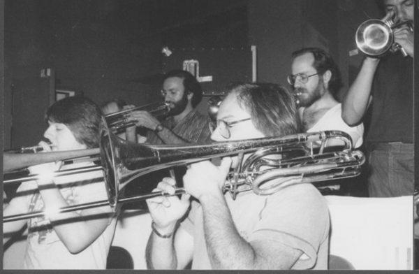 Toshiko Akiyoshi trombone section