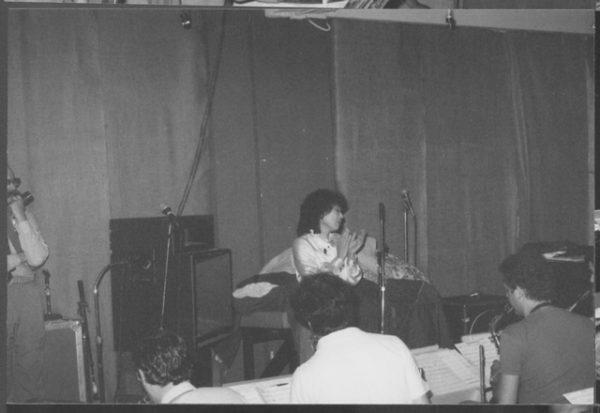 Toshiko Akiyoshi conducting Big Band Rehearsal