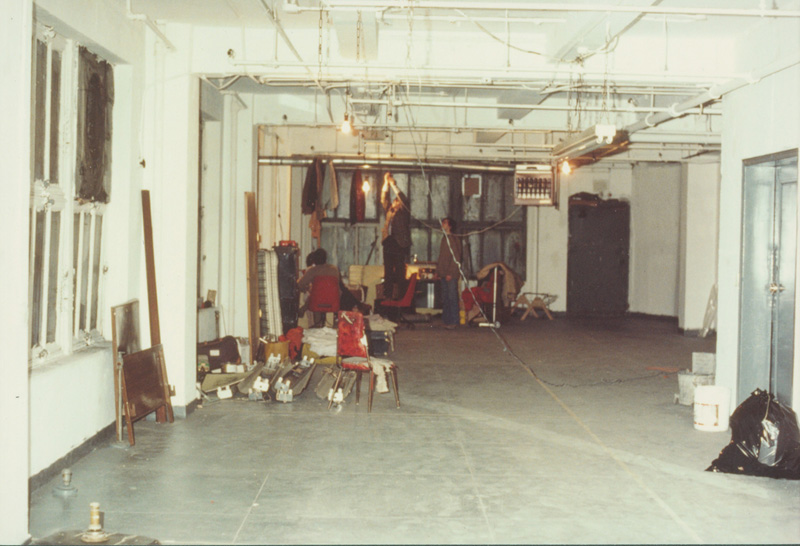 1981 Giant Rehearsal Studios construction