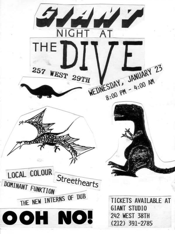 Giant Night at The Dive - OOH NO!