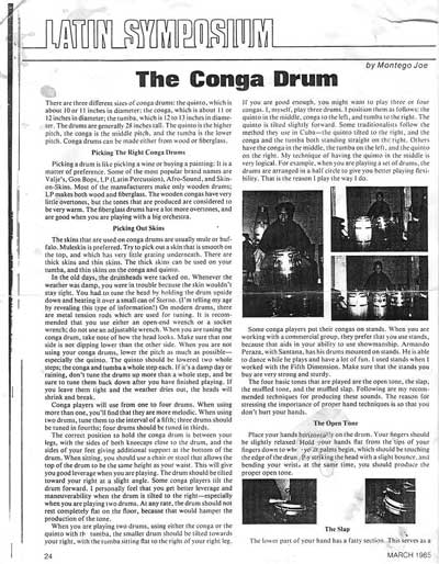Latin Symposium/The Conga Drum Pg 1